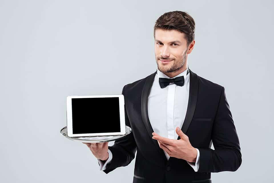 James, din digitale butler, till din tjänst!