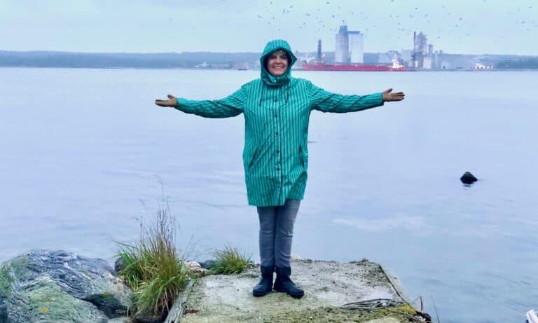 Jag, Åsa vid havet