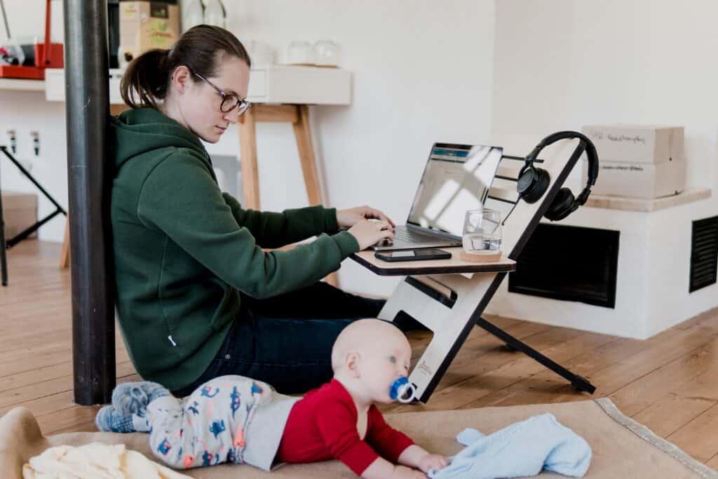 Kombinera jobb med barn