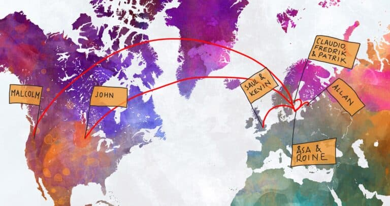 Worldmap Stenstrominfo